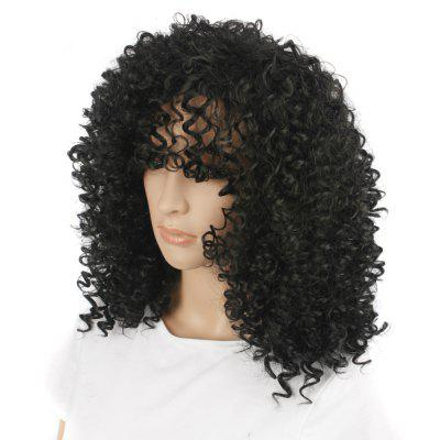 Fashion Pretty African Fluffy Curly Hair Synthetic Wig - BlackSynthetic Wigs<br>Fashion Pretty African Fluffy Curly Hair Synthetic Wig - Black<br><br>Bang Type: None<br>Can Be Permed: No<br>Gender: Female<br>Lace Wigs Type: None Lace Wigs<br>Length: Medium<br>Length Size(CM): 35<br>Length Size(Inch): 14<br>Material: Synthetic Hair<br>Package Contents: 1 x Wig, 1 x Cap<br>Package size (L x W x H): 32.00 x 17.00 x 7.00 cm / 12.6 x 6.69 x 2.76 inches<br>Package weight: 0.2500 kg<br>Product weight: 0.2100 kg<br>Style: Curly<br>Type: Full Wigs