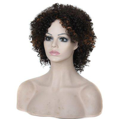 Medium Parting Fluffy African Short Curly Synthetic WigSynthetic Wigs<br>Medium Parting Fluffy African Short Curly Synthetic Wig<br><br>Can Be Permed: No<br>Gender: Female<br>Lace Wigs Type: None Lace Wigs<br>Length: Medium<br>Length Size(CM): 25<br>Length Size(Inch): 10<br>Material: Synthetic Hair<br>Package Contents: 1 x Wig, 1 x Cap<br>Package size (L x W x H): 32.00 x 17.00 x 7.00 cm / 12.6 x 6.69 x 2.76 inches<br>Package weight: 0.2600 kg<br>Product weight: 0.2200 kg<br>Style: Curly<br>Type: Full Wigs