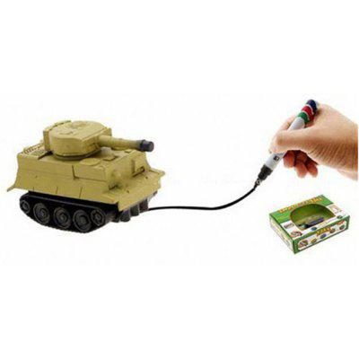 Magic Toy Tank  -  19.5 X 5.5 X 14  YELLOW