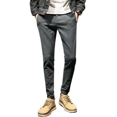 Men'S Thick Autumn and Winter Casual Pants