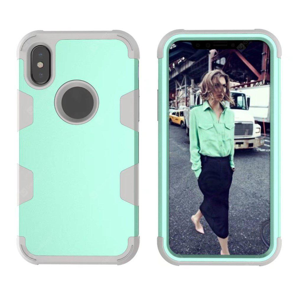 Silicone PC Turnkey Case for iphone X