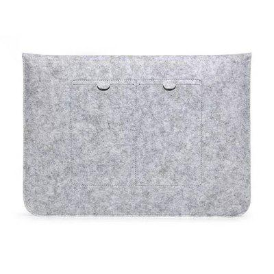 Felt Sleeve Laptop Case Cover Bag for Apple MacBook Air Pro 15 Inch SetLaptop Bags<br>Felt Sleeve Laptop Case Cover Bag for Apple MacBook Air Pro 15 Inch Set<br><br>Package Contents: 1 x Laptop Bag<br>Package size (L x W x H): 39.00 x 27.00 x 1.50 cm / 15.35 x 10.63 x 0.59 inches<br>Package weight: 0.1200 kg<br>Size: 15.0 inch<br>Type: Briefcase