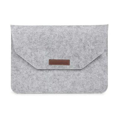 Felt Sleeve Laptop Case Cover Bag for Apple MacBook Air Pro 15 Inch Set