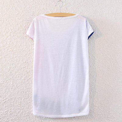 Summer New Triangle Batwing T Shirt Short Sleeved Loose Ladies Top Blouse Big Size White Tops Casual Outwear Cheap Women TeesTees<br>Summer New Triangle Batwing T Shirt Short Sleeved Loose Ladies Top Blouse Big Size White Tops Casual Outwear Cheap Women Tees<br>