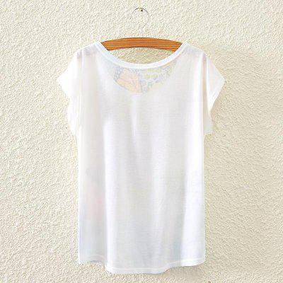 New Summer Batwing Tops Woman Short Sleeved Loose Elegant Big Size T-shirt Graphic Digital Print Blouses All Match Casual TeeTees<br>New Summer Batwing Tops Woman Short Sleeved Loose Elegant Big Size T-shirt Graphic Digital Print Blouses All Match Casual Tee<br>