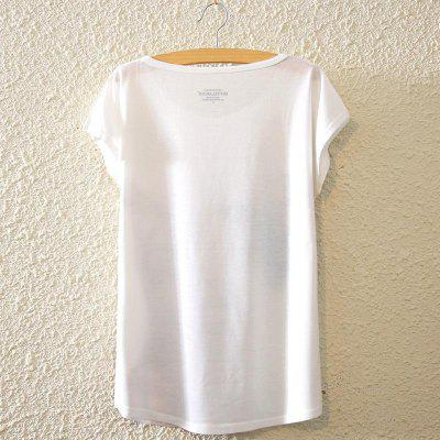 Summer New Europe Beauty Batwing Tops Night Unique Graffiti Style Short Sleeved Loose Womens T-shirt Digital Printed Blouse for WomenTees<br>Summer New Europe Beauty Batwing Tops Night Unique Graffiti Style Short Sleeved Loose Womens T-shirt Digital Printed Blouse for Women<br>