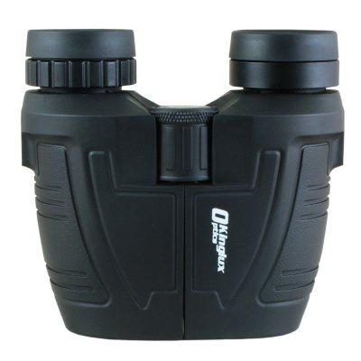 Kinglux Optics 12x25mm BAK4 Compact Porro Binocular  with Twist Up and Large Eyepieces