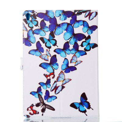 Case for iPad Pro 10.5 inch Butterfly Magnetic PU Leather Smart Stand Case Cover For iPad Pro 10.5 2017 New Model Fundas butterfly bling diamond case