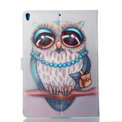 Case for Apple iPad Pro10.5 inch Stay adorable Owl PU Magnetic Leather Smart Stand Case Cover For iPad Pro 10.5 2017 New luxury cross pattern book cover card slot folio stand pu leather magnetic smart sleep case for apple ipad pro 12 9 inch tablet