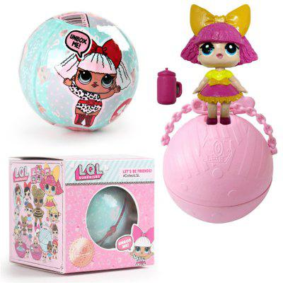 Funny Kawaii LoL Open Eggs Dolls Ball Children Surprise Doll Anime Action Figure Kids Toy Fun Egg [yamala] 2pcs set 18cm anime one piece luffy ace pvc action figure model toys christmas toy model gifts for children