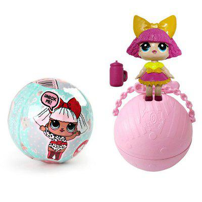 Funny Kawaii LoL Open Eggs Dolls Ball Children Surprise Doll Anime Action Figure Kids Toy Fun Egg children funny lucky game gadget joke toy projectile fun