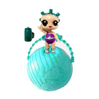 Buy BLUE Funny Kawaii LoL Open Eggs Dolls Ball Children Surprise Doll Anime Action Figure Kids Toy Fun Egg for $2.99 in GearBest store