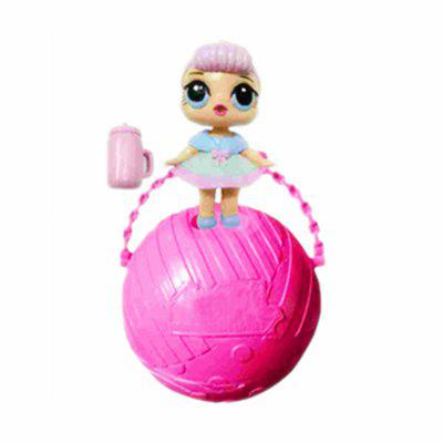Buy ROSE RED Funny Kawaii LoL Open Eggs Dolls Ball Children Surprise Doll Anime Action Figure Kids Toy Fun Egg for $2.99 in GearBest store