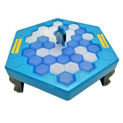 Ice Block Breaking Game Save Penguin Table Game penguin trap interactive ice breaking table penguin trap antistress toy activate fun toy for kids family funny game zg007