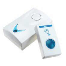 Atongm Remote Wireless Remote Controller with One Doorbell and One Electric Doorbell
