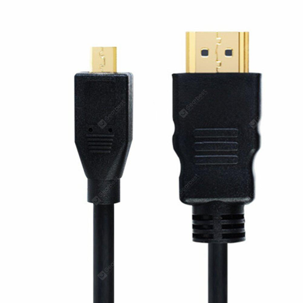 Yeshold Micro HDMI to HDMI Adapter Cable 1.5M