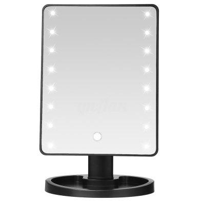 ... TODO Fashion 16 LED Touch Screen Makeup Tabletop Vanity Light Up Mirror  ...