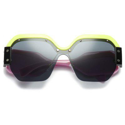 New WomenTrend Sunglasses Personality GlassesWomens Sunglasses<br>New WomenTrend Sunglasses Personality Glasses<br><br>Frame material: Acetate<br>Gender: For Women<br>Group: Adult<br>Lens material: Resin<br>Package Contents: 1 x Pair of Sunglasses<br>Package size (L x W x H): 14.00 x 7.00 x 8.00 cm / 5.51 x 2.76 x 3.15 inches<br>Package weight: 0.1280 kg<br>Product weight: 0.0480 kg<br>Style: Oval