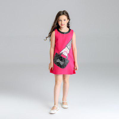 Kimocat Girl Handbag with Sleeveless Vest in SummerGirls dresses<br>Kimocat Girl Handbag with Sleeveless Vest in Summer<br><br>Dresses Length: Knee-Length<br>Elasticity: Micro-elastic<br>Embellishment: Appliques<br>Fabric Type: Broadcloth<br>Material: Cotton<br>Neckline: Round Collar<br>Package Contents: 1 x Dress<br>Pattern Type: Others<br>Season: Summer<br>Silhouette: Straight<br>Sleeve Length: Sleeveless<br>Style: Novelty<br>Waist: Natural<br>Weight: 0.2871kg<br>With Belt: No