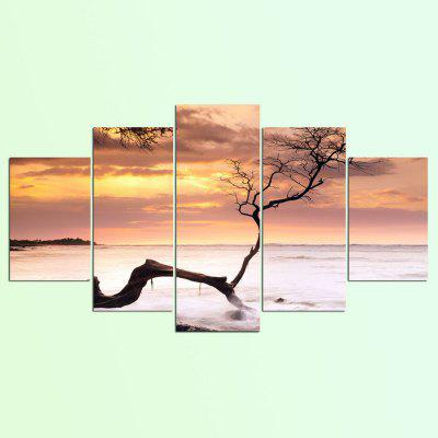 YSDAFEN 5 Piece Picture Wall Art Room Decor Poster Canvas Painting