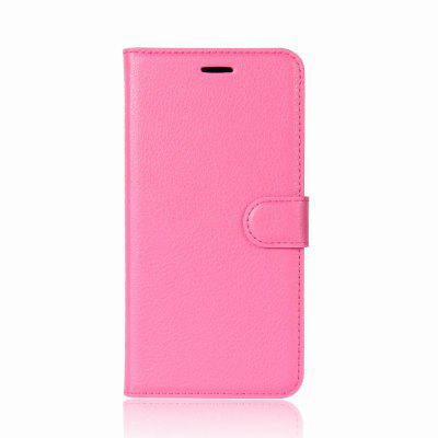 Solid Color Litchi Pattern Wallet Style Front Buckle Flip Pu Leather Case with Card Slots for Wiko View Prime solid color litchi pattern wallet style front buckle flip pu leather case with card slots for doogee x10