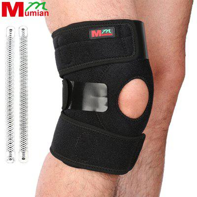 2017 Mumian Knee Adjustable Sports Leg Support Brace Wrap Protector Pads Sleeve Cap Patella Guard 2 Spring Bars sport cotton wrist brace wrap support black