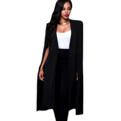 Women's Fashion Cardigan Solid Color in The Long  Suit