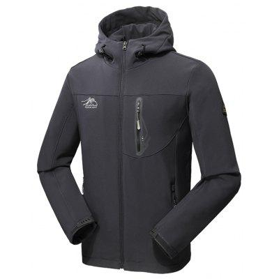 2017 Men Causal Sports Water Proof Softshell Coat