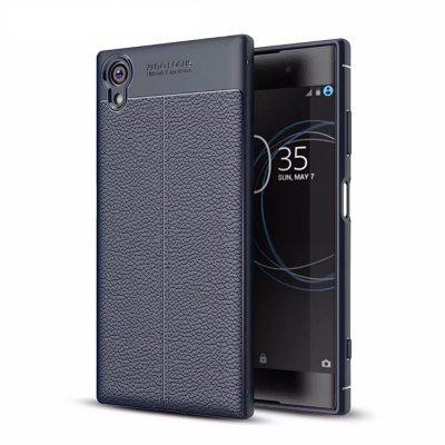 Shockproof Back Cover Solid Color Soft TPU Case for Sony Xperia XA1 Plus