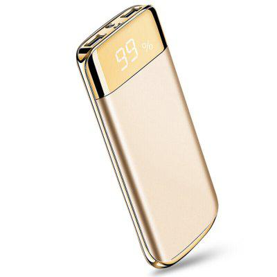XY - C6 Ultra Thin Mobile Phone General Power Polymer 10000 MAH Digital Display High End Rechargeable Treasure