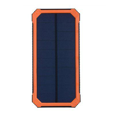 XY - T2 Polymer Solar Portable Battery Charger 20000 MAH Universal Rechargeable Treasure