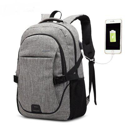 AUGUR Backpacks USB Charging For Men Women Casual Travel Teenager Student School Bag