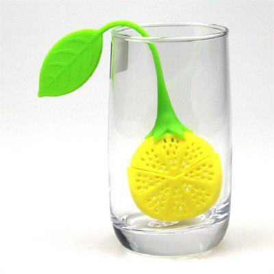 Lemon Silica Gel Tea Filter