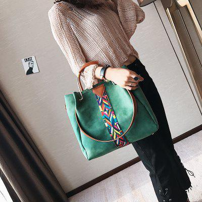 New Handbags Colorful Straps Frosted Leather BagsHandbags<br>New Handbags Colorful Straps Frosted Leather Bags<br><br>Closure Type: Zipper<br>Embellishment: Ribbons<br>Exterior: None<br>Gender: For Women<br>Handbag Size: Medium(30-50cm)<br>Handbag Type: Totes<br>Hardness: Soft<br>Interior: Cell Phone Pocket<br>Lining Material: PU<br>Main Material: PU<br>Number of Handles / Straps: Single<br>Occasion: Versatile<br>Package Contents: 1 x Bag, 1 x Small bag<br>Package size (L x W x H): 42.00 x 8.00 x 32.00 cm / 16.54 x 3.15 x 12.6 inches<br>Package weight: 0.9400 kg<br>Pattern Type: Geometric<br>Product size (L x W x H): 32.00 x 12.00 x 31.00 cm / 12.6 x 4.72 x 12.2 inches<br>Product weight: 0.9600 kg<br>Shape: Casual Tote<br>Strap Length: 109cm<br>Style: Vintage<br>With Pendant: No