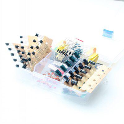 38 Project Beginner Parts Kit for Entry Level Maker Learning Electronics
