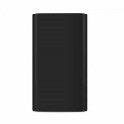 Buy BLACK Silicone Gel Rubber Case For 10000mAh Xiaomi Cover Power Bank 2 Cover for $2.13 in GearBest store