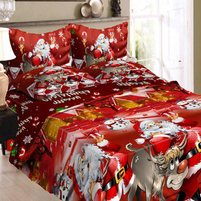 3D Printed Christmas Santa Bedding Set Polyester Duvet Cover with 2pcs Pillowcases Bed Sheet Set Christmas Bedroom DecorBedding Sets<br>3D Printed Christmas Santa Bedding Set Polyester Duvet Cover with 2pcs Pillowcases Bed Sheet Set Christmas Bedroom Decor<br><br>Category: Bedding Set<br>Color: Red<br>For: All<br>Functions: Multi-functions<br>Material: Polyester fibre, Cotton<br>Occasion: Bedroom<br>Package Contents: 1 xDuvet Cover 2 xPillowcases 1 xBed Sheet<br>Package size (L x W x H): 24.00 x 20.00 x 10.00 cm / 9.45 x 7.87 x 3.94 inches<br>Package weight: 2.1000 kg<br>Product weight: 2.0500 kg