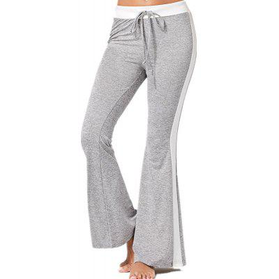 Color Stitching Leisure Trousers