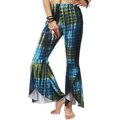 Multicolor High Waisted Trousers