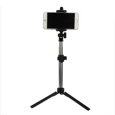 Extendable Monopod With Tripod Stand Bluetooth Selfie
