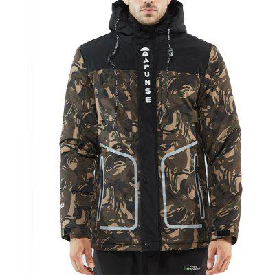 The Winter Men'S Casual Cotton Padded Jacket Camouflage
