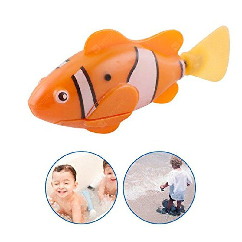 Artificial Glow Swimming Robot Fish Activated in Water Magical Electronic Toy Kids Children Gift