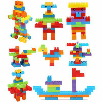 The new collage puzzle piece has 90 pieces of building blocks