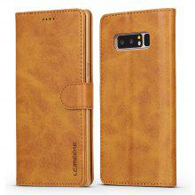 LCIMEEKE Solid Color Horizontal Flip Stand Wallet Case for Samsung Galaxy Note 8