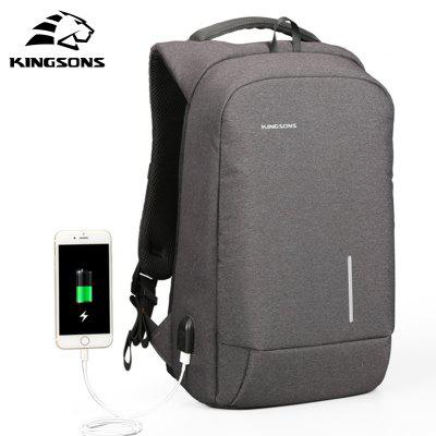 Backpack Kim Sung Si External USB Interface Charging Phone Sucker Laptop Shoulder BagBackpacks<br>Backpack Kim Sung Si External USB Interface Charging Phone Sucker Laptop Shoulder Bag<br><br>For: Other, Traveling<br>Material: Nylon<br>Package Contents: 1 x Bag<br>Package size (L x W x H): 46.00 x 35.00 x 15.00 cm / 18.11 x 13.78 x 5.91 inches<br>Package weight: 0.8700 kg<br>Product size (L x W x H): 42.00 x 28.00 x 12.00 cm / 16.54 x 11.02 x 4.72 inches<br>Product weight: 1.2000 kg<br>Type: Backpack