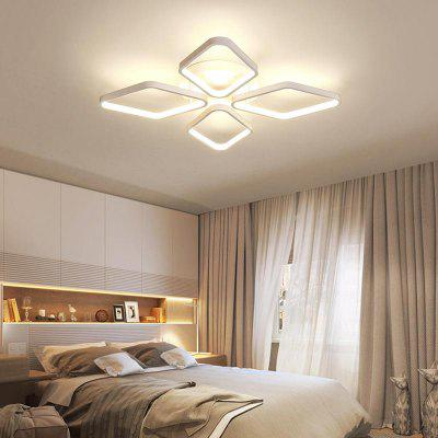 Modern Nature White LED Acrylic  Flush Mount Ceiling Light for Living Kids Bedrooms Dining RoomFlush Ceiling Lights<br>Modern Nature White LED Acrylic  Flush Mount Ceiling Light for Living Kids Bedrooms Dining Room<br><br>Battery Included: Non-preloaded<br>Bulb Base: LED Integrated<br>Bulb Included: Yes<br>Bulb Type: LED<br>Chain / Cord Adjustable or Not: Chain / Cord Adjustable<br>Color Temperature or Wavelength: Warm White 3000K / Cold White 6000K<br>Decoration Material: Metal<br>Dimmable: No<br>Features: Multi-shade, Designers<br>Finish: Paint<br>Fixture Height ( CM ): 9<br>Fixture Length ( CM ): 53<br>Fixture Material: Aluminum<br>Fixture Width ( CM ): 53<br>Light Direction: Ambient Light<br>Light Source Color: Cold White,Warm White<br>Number of Bulb Sockets: 1<br>Number of Tiers: Single Tier<br>Package Contents: 1 x Lamp Body, 1 x Fittings Bag<br>Package size (L x W x H): 58.00 x 58.00 x 14.00 cm / 22.83 x 22.83 x 5.51 inches<br>Package weight: 4.2000 kg<br>Product size (L x W x H): 53.00 x 53.00 x 9.00 cm / 20.87 x 20.87 x 3.54 inches<br>Product weight: 3.4000 kg<br>Remote Control Supported: No<br>Shade Material: Aluminum, Silicone<br>Stepless Dimming: No<br>Style: Artistic Style, Chic &amp; Modern, LED, Modern/Contemporary, Simple Style<br>Suggested Room Size: 15 - 20?<br>Suggested Space Fit: Bedroom,Dining Room,Indoors,Kids Room,Living Room,Office,Study Room<br>Type: Flush Mount<br>Voltage ( V ): 220V - 240V,AC110 - 120V<br>Wattage (W): 40W