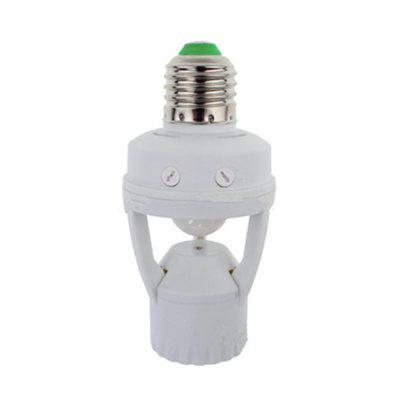 Infrared Human Body Induction Switch E27 Big Screw Mouth Induction Lamp Holder