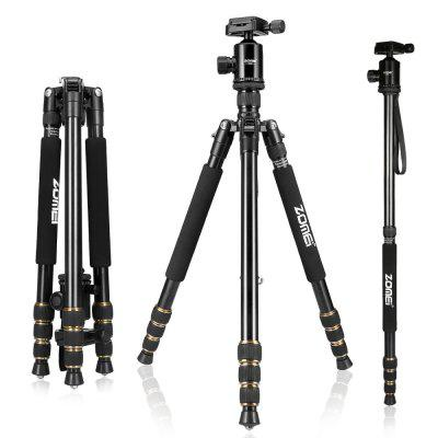 ZOMEI Z688 Portable Pro Magnesium Aluminum Alloy Camera Tripod Monopod With Ball Head For Canon / Nikon / Sony / DSLR Camera