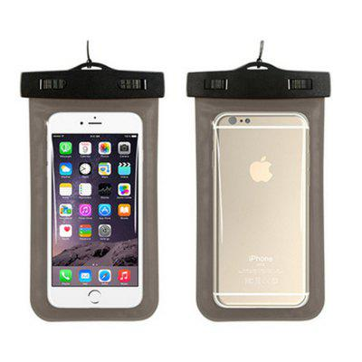 Waterproof Sealed Bag Universal Mobile Phone Swimming Case Cover for 6 Inches below The Phone