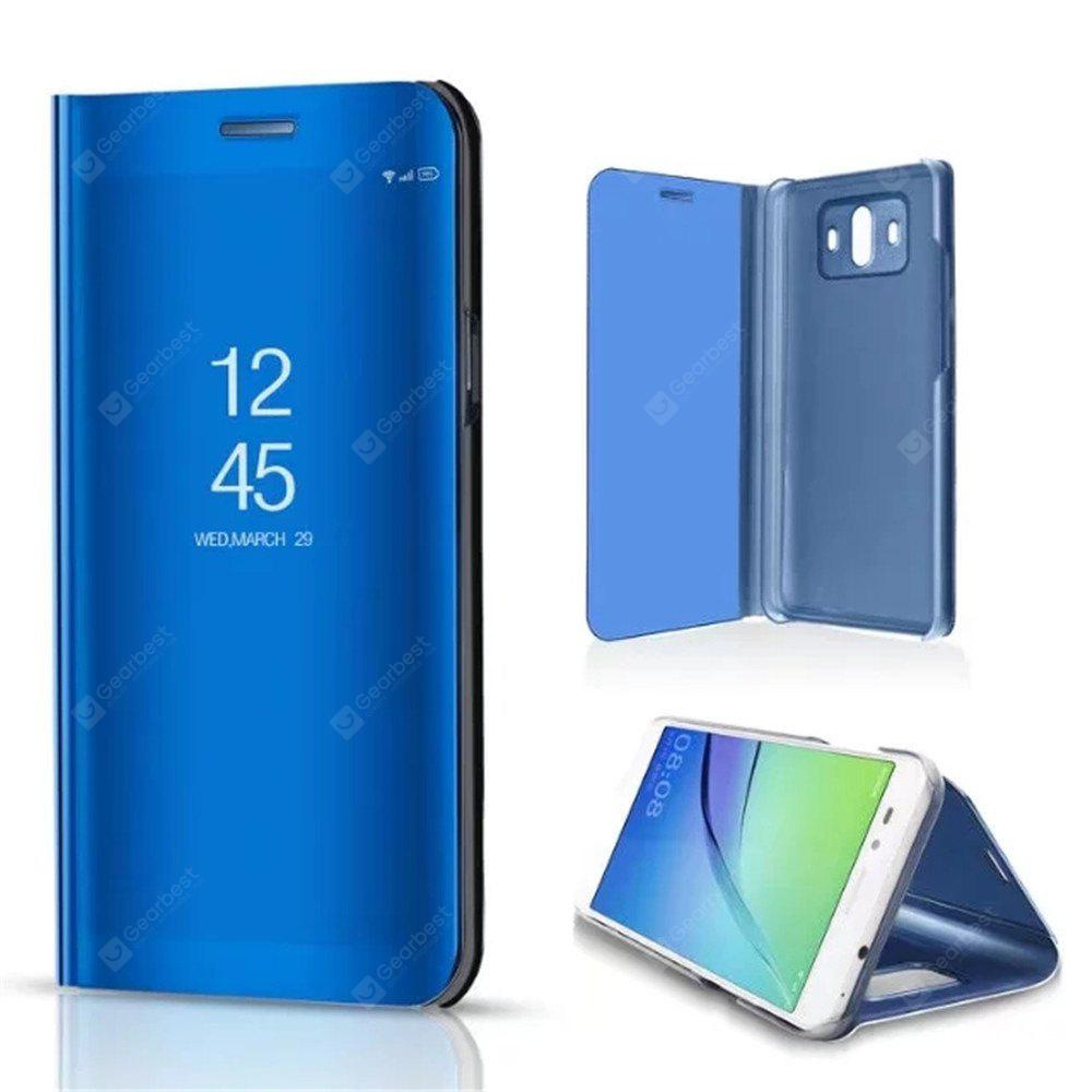 Mirror Flip Leather Clear View Window Smart Cover for Huawei Mate 10 Case
